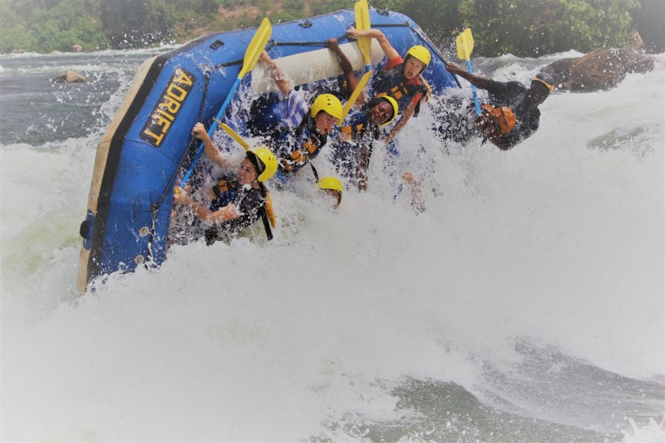 white water rafting