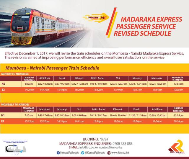 Booking the SGR Madaraka Express - Everything you need to